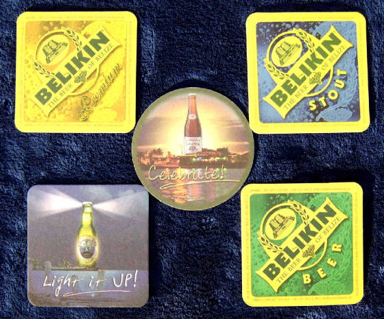 Belikin Beer  All The Girls Coasters