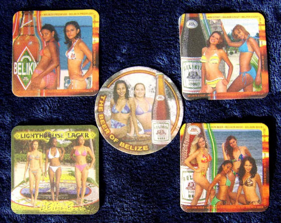 Belikin Beer Coasters - Front Side